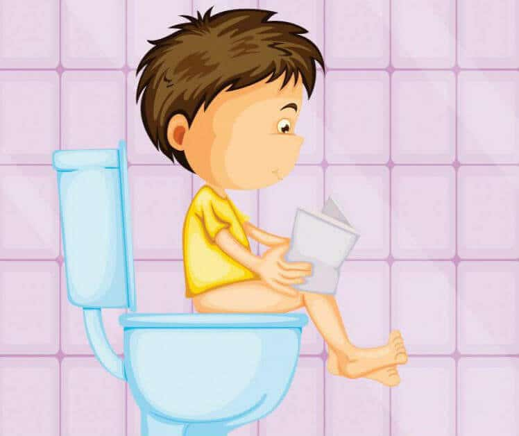 Хронический запор у ребенка