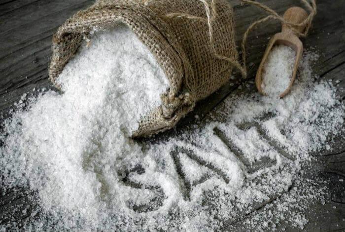 Клизма с солевым растовором