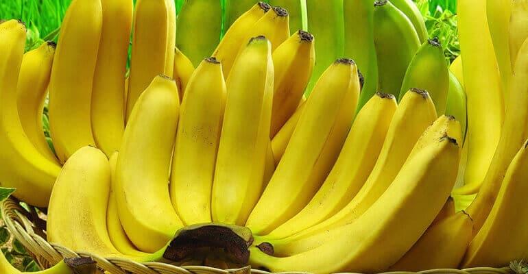 Бананы при запорах