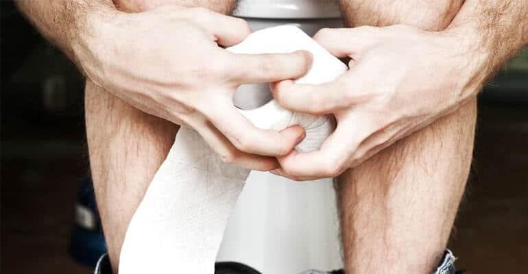 запор у мужчин лечение