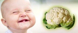 Запор от цветной капусты у грудничка